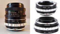 Prezentare Adaptor de montura de la Pentax K/M/A/FA/DA la Fujifilm X-Mou... Drink Bottles
