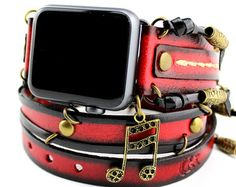Best Android and Apple smartwatches for men and women. Are you interested in - Smart watch Android and Apple watches. For men, women and kids. Click Visit link for more details -- Look and feel with coolAndroid and Apple smartwatch for men and women. Playstation, Xbox, Leather Cuffs, Leather Men, Apple Watch Bands Mens, Wrap Watches, Women's Watches, Cool Watches For Women, Apple Straps