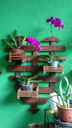 Foto Inventions, Diy, Patio, Plants, Home Decor, Gardens, Salvaged Wood, Manualidades, Decks