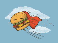 Super Burger from http://society6.com