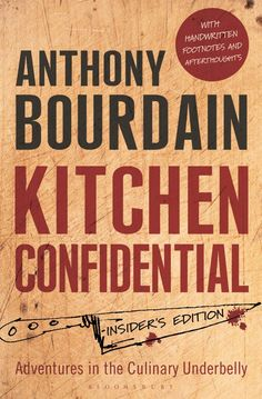 bol.com | Kitchen Confidential, Anthony Bourdain | 9781408845042 | Boeken