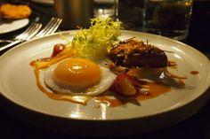 The Ten Room - London Restaurant Festival 2014 | Smoked duck, foie gras & duck egg.