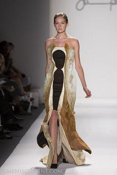 #Supima Design Competition, Spring 2013, New York Fashion Week. Source: Meniscus Magazine #nyfw