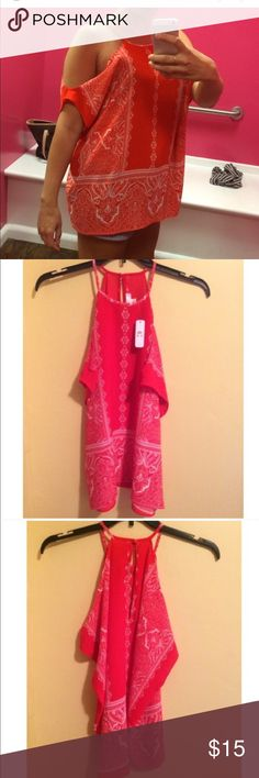 Adorable Charming Charlie Summer Top Brand new with tags Charming Charlie Summer Top. Size Small. Charming Charlie Tops