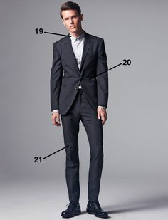 Why the fit of your suit is so important to your first impression: The Complete Guide to Suits: 57 Rules of Style