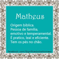 Significado do nome Matheus | Significado dos Nomes
