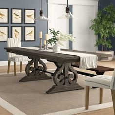 These are the best hardwood dining tables. Including, round dining table, dining table sets for dining room, kitchen and modern home. Formal Dining Tables, Trestle Dining Tables, Pedestal Dining Table, Solid Wood Dining Table, Dining Table In Kitchen, Extendable Dining Table, Table And Chairs, Dining Rooms, Large Dining Room Table