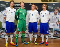 Finland adidas Home Kit Football Fashion, European Championships, Liverpool Fc, Sports Shirts, Fifa, World Cup, Finland, Olympics, Soccer