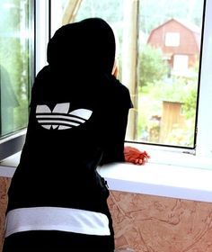 chill adidas hoodie