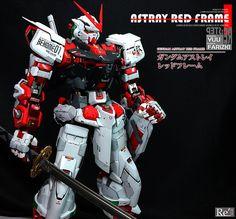 Custom Build: PG 1/60 Gundam Astray Red Frame [Detailed] - Gundam Kits Collection News and Reviews Crazy Robot, Astray Red Frame, Gundam Astray, Gundam Art, Gunpla Custom, Gundam Model, Action Figures, Building, News