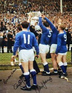 Everton Players celebrating F.A Cup win at Wembley 1966 Classic Football Shirts, Retro Football, World Football, Football Team, Beatles, Vietnam, Bristol Rovers, Liverpool Home, Everton Fc