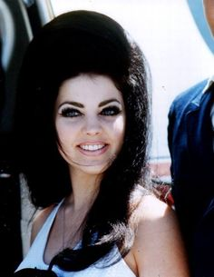 Priscilla Presley... So beautiful! And Lawd have mercy, I LOVE her BIG hair!