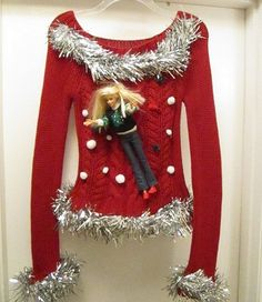 10 DIY Ugly Christmas Sweaters for the Holidays - thegoodstuff