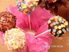 Receta de #CakePops Deliciosa - Tu piruleta favorita #CakePopsHomeMade