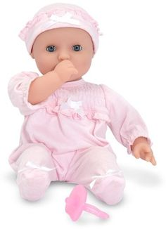 """Toddler Melissa & Doug 'Mine To Love - Jenna' Baby Doll  """"I get commissions for purchases made through links in this post."""""""