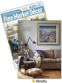 Suggestion about Flea Market Décor March-April 2015 page 69
