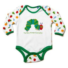 Birthday Outfit Baby Boy Very Hungry Caterpillar 30 Best Ideas Hungry Caterpillar Nursery, Caterpillar Toys, Very Hungry Caterpillar, Baby Shower Gifts, Baby Gifts, Eric Carle, Baby Birthday, Birthday Ideas, Baby Bodysuit