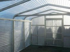 Pro GreenHouse is easy to set up and comes with a Lifetime Warranty using Galvanized Steel Frame, Hard Polycarbonate siding that withstands hail & 100 MPH winds Fruit Garden, Vegetable Garden, Polycarbonate Greenhouse, Diy Greenhouse, Concrete Slab, Garden Types, Aquaponics System, Galvanized Steel, Steel Frame
