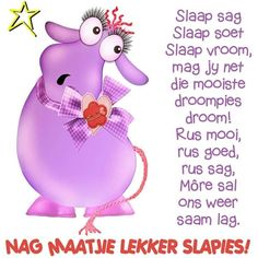 Greetings For The Day, Evening Greetings, Good Night Messages, Good Night Quotes, Sign Quotes, Qoutes, Afrikaanse Quotes, Goeie Nag, Goeie More