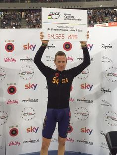 Of course he did - World Hour Record 07.06.15.