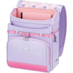 Japanese Randoseru Backpack Cubee Pearl Lavender Purple WPGCAH Japan... ❤ liked on Polyvore featuring bags, backpacks, knapsack bag, purple backpack, rucksack bag, day pack rucksack and lavender bags