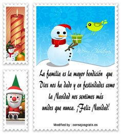 carta para enviar en Navidad,descargar mensajes para enviar en Navidad: http://www.consejosgratis.es/extraordinarias-frases-de-navidad-para-la-familia/