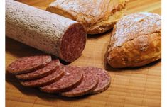 Here's a very old recipe for making your own summer sausage, we also use it to make venison sausage.) hours in the oven and you have delicious fresh summer sausage Venison Summer Sausage Recipe, Homemade Summer Sausage, Summer Sausage Recipes, Venison Recipes, Yummy Snacks, Yummy Food, Salami Recipes, Eating Alone, Good Food