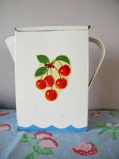 Vintage Cherries Laundry Soap by SongbirdSalvation on Etsy