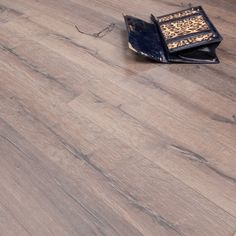 Reinier Rustic Oak 12mm x 190mm V-Groove AC5 1.4367m2 - from Discount Flooring Depot UK. Only £11.99 per m2!