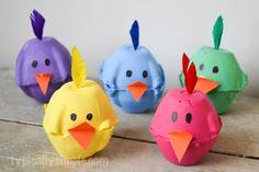 Reaproveite caixas de ovos na decoração