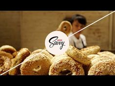 How to Make Amazing Bagels at Home - Savvy, Ep. Black Seed Bagels, Bagel Recipe, Vegetarian Lifestyle, Organic Living, Appetizer Dips, Baking Recipes, Cooking Tips, Healthy Living, Food And Drink
