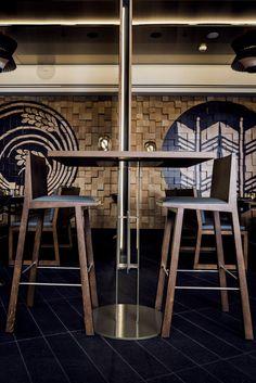Kiyomi Interior Designers Sydney, Restaurants, Noodle Bar, Timber Panelling, Residential Architect, Hotel Interiors, Beach Bars, Cafe Restaurant, Architecture