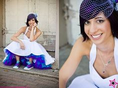 purple and teal wedding - Google Search