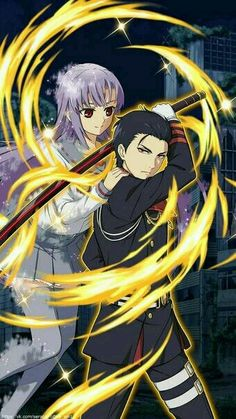 Hiiragi Mahiru and Ichinose Guren