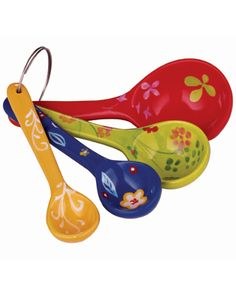 Take your gift-giving chops to new measures. (Hint: This cool ceramic 4-piece spoon set by Cost Plus World Market is the secret ingredient.)  Ceramic Measuring Spoons; $3.99,