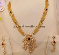 Simple Mesh Chain Necklace 40gms | Jewellery Designs