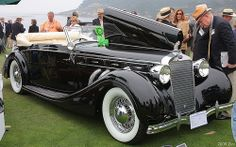 1936 Delage D8 120 Chapron Cabriolet - fvr
