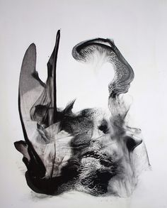 Patti Jordan | Horn-Mad, 2010............. out of control, texture, mind tricks layers