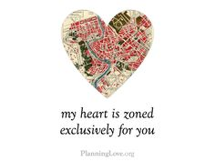 V-Day cards for planners, architects, urban designers, landscape architects, transportation engineers, and those who love them.