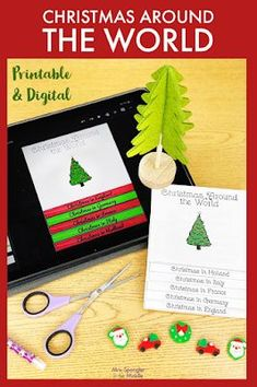 Combine Christmas activities and research using this interactive and creative flipbook with for your middle school students! It's an authentic holiday research and writing experience! Teaching Materials, Teaching Resources, Christmas Speech Therapy, Grouping Students, Research Skills, Holidays Around The World, What Is Christmas, Speech Therapy Activities, Classroom Fun