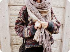 #winter #fashion #tribal