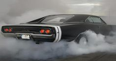 This is my all time favorite car. I believe it's a 1968 Dodge Charger (Might be wrong on the year)
