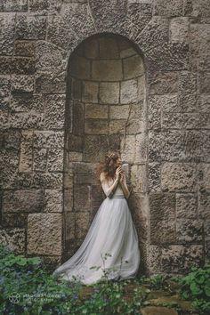 Photographer: Veronika Horvath  Model: Szófia Szvoboda  Dress:Pálfy Bíbor  Make-up: Szlamizita - Makeup Artist  Hair: Kornel Hairbert  Bridal headpiece: amarnam  Organized by Anikó TóthApril,the Wedding Journal