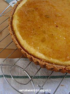 Caru's Bakery: Cheesecake al rum con marmellata di fichi #scambioricette