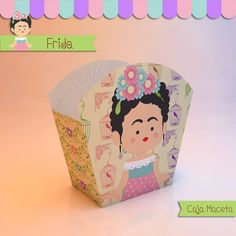 Frida - Caja Golosinas Maceta