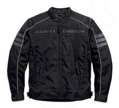 Harley-Davidson® Men's Functional Jacket, Street Canon Riding Black 98084-15VM - Wisconsin Harley-Davidson