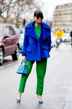 Paris Fashion Week Fall 2017 Street Style Day 2 - The Impression