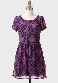 Hall Of Mirrors Printed Tunic Dress at #Ruche @shopruche