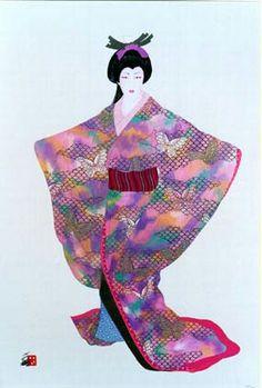 Lady Mieko - Spring by Hisashi Otsuka