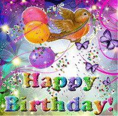 Happy Birthday Greetings Friends, Birthday Wishes Gif, Happy Birthday Cake Images, Happy Birthday Brother, Happy Birthday Quotes, Birthday Fun, Birthday Cards, Birthday Sayings, Birthdays